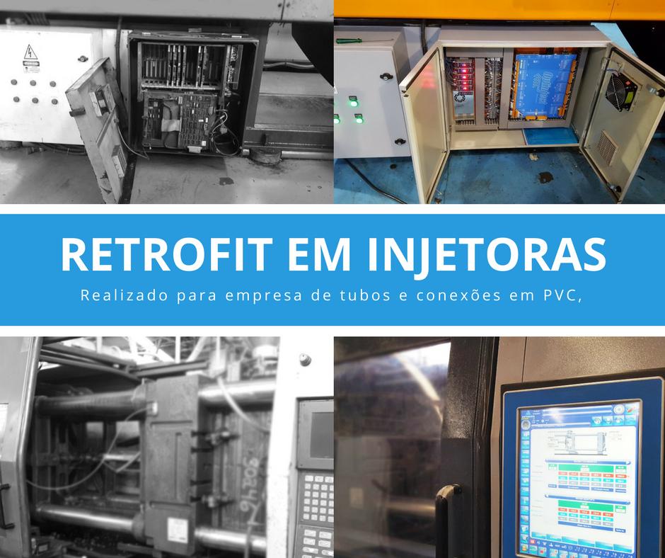 retrofit de máquinas injetoras